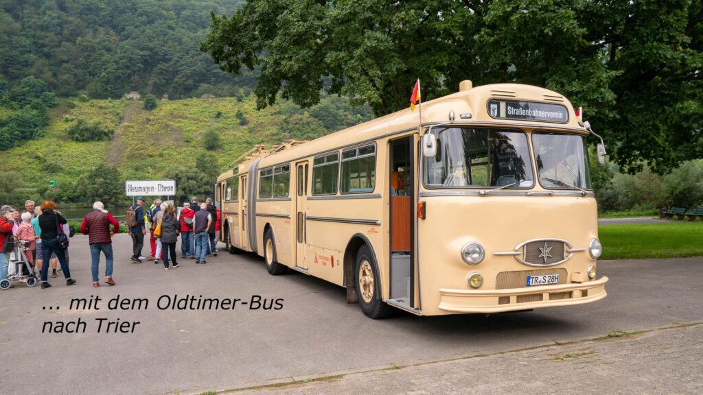 Oldtimerbus nach Trier
