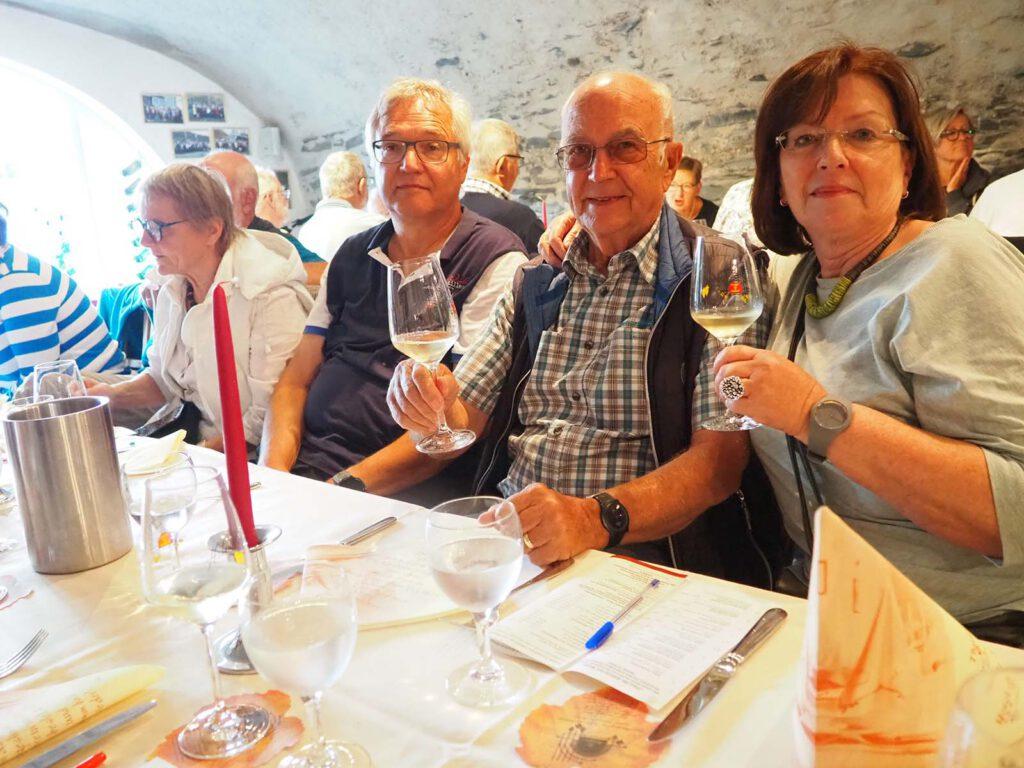 Weinprobe beim Winzer